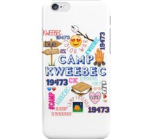 camp kweebec phone case iPhone Case/Skin