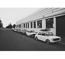 Retro Cars Photographic Print
