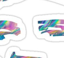 hologram elvis presley Sticker