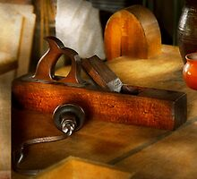 Carpenter - The humble shop plane by Mike  Savad