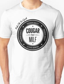 Vintage Retro Cougar Hot Milf T-shirt T-Shirt