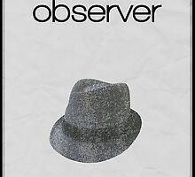 Fringe minimalist poster, Observer by hannahnicole420