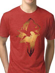 Final Fantasy 9 logo Tri-blend T-Shirt