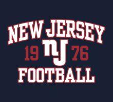 New Jersey Football One Piece - Long Sleeve