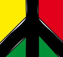 PEACE LOVE  UNITY Sticker