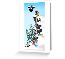 Welcome Anna and Elsa  Greeting Card