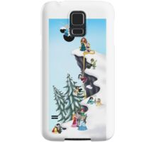 Welcome Anna and Elsa  Samsung Galaxy Case/Skin