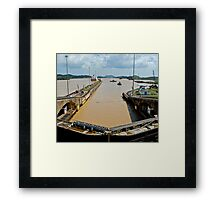 Crossing the Canal 4 Framed Print