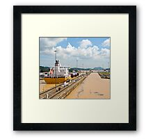 Crossing the Canal 3 Framed Print