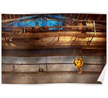 Industrial - The gantry crane Poster