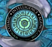 Pisces - Cosmic Intelligence Agency - CIA Sticker