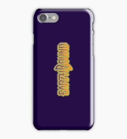 Earthbound Title Screen (Pixelated) iPhone Case/Skin