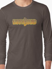 Earthbound Title Screen (Pixelated) Long Sleeve T-Shirt