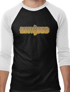 Earthbound Title Screen (Pixelated) Men's Baseball ¾ T-Shirt