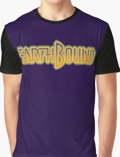 Earthbound Title Screen (Pixelated) Graphic T-Shirt