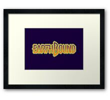 Earthbound Title Screen (Pixelated) Framed Print