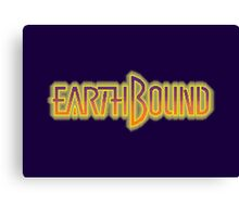 Earthbound Title Screen (Pixelated) Canvas Print