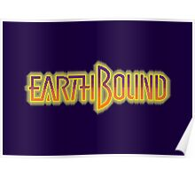 Earthbound Title Screen (Pixelated) Poster