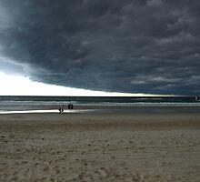Pancake cloud over Gold Coast-2 by SurendraHalgeri