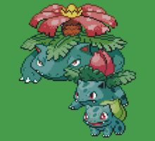 Bulbasaur Evolution by GreenTheRival