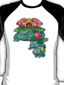 Bulbasaur Evolution T-Shirt