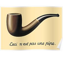 In the style of René Magritte Poster