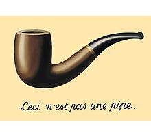In the style of René Magritte Photographic Print