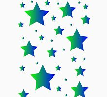 Blue and Green Stars Unisex T-Shirt