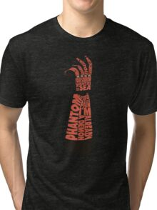 Metal Gear Solid V - Bionic Arm - Typography Tri-blend T-Shirt