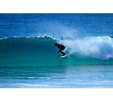 Surfing Duranbah Photographic Print