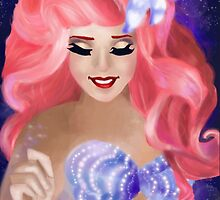 Paint the Night-Ariel by Andrea-Sketches
