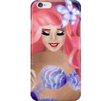 Paint the Night-Ariel iPhone Case/Skin