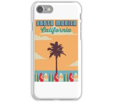 Santa Monica - California.  iPhone Case/Skin