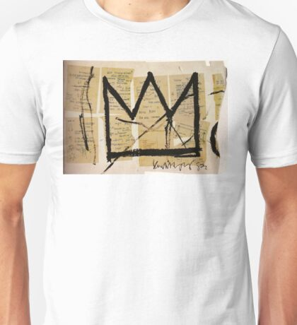 Basquiat Crown Leeches Shirt Unisex T-Shirt