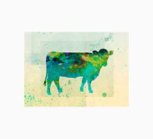 The Painted Cow - cow art Unisex T-Shirt
