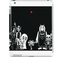 undertale wallpaper iPad Case/Skin