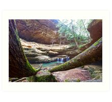 Old Mans Cave Art Print