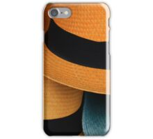 Yellow and Blue Hats iPhone Case/Skin
