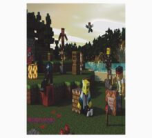 Minecraft:  Awesome Friends One Piece - Short Sleeve