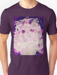 Purple Inferno Unicorn Kitten T-Shirt