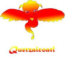 Open Wing Quetzalcoatl Red by Mars714