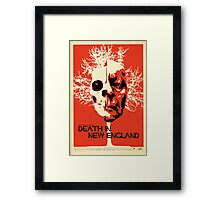 Death In New England Framed Print