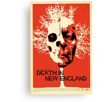 Death In New England Canvas Print