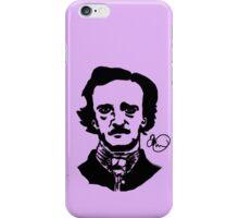 Contrasty Edgar Allan Poe iPhone Case/Skin