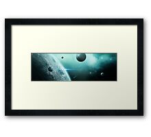 Into the Blue Sea Framed Print