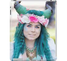 Azure Tresses iPad Case/Skin