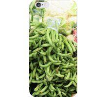 Vegetable Market iPhone Case/Skin