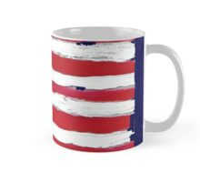 Vintage USA Gift Flag Hand Painted American National Symbolic Mug