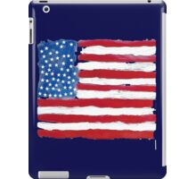 Vintage USA Gift Flag Hand Painted American National Symbolic iPad Case/Skin