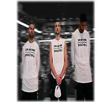 Spurs Big 3 Soft Edge Photographic Print